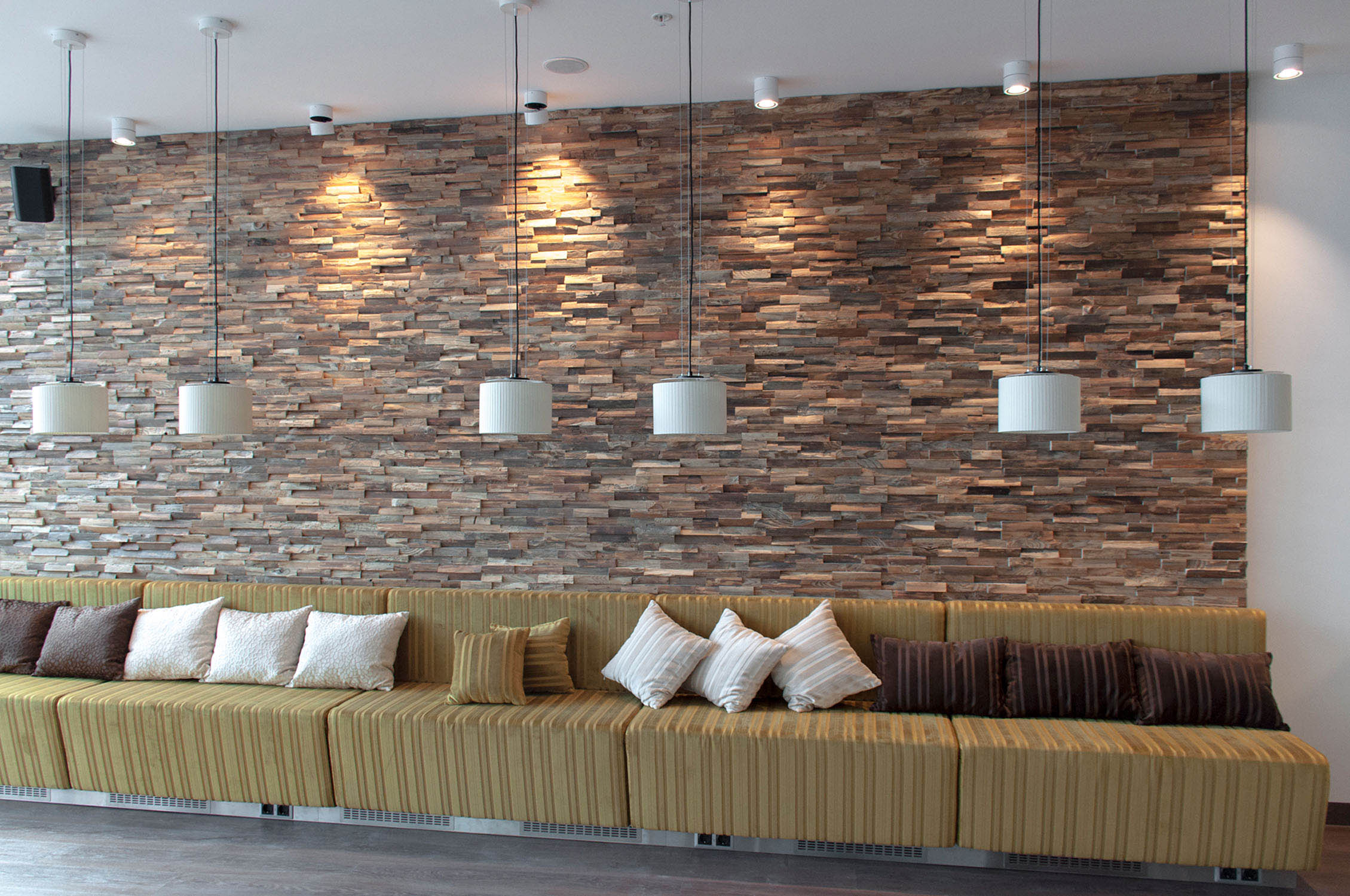 Unique woos wall cladding