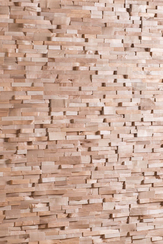 3D gespaltene Holzwand