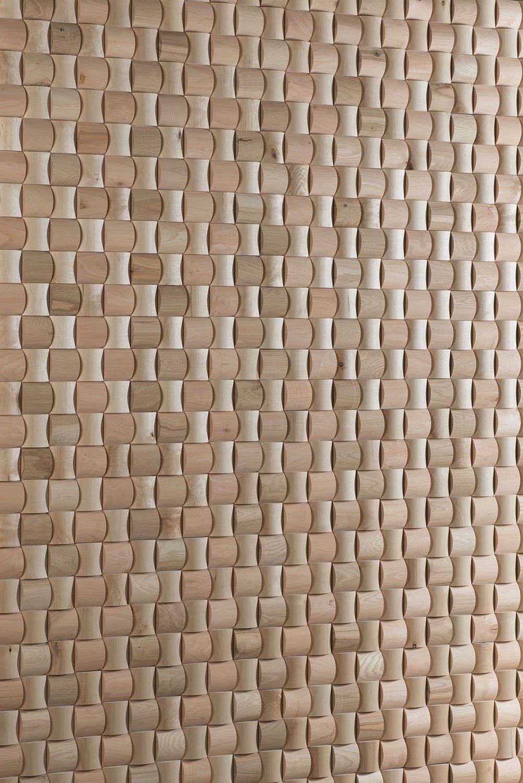 Wandpaneele aus massivem Holz