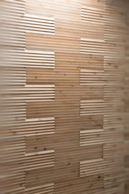 Modern interior wall panel