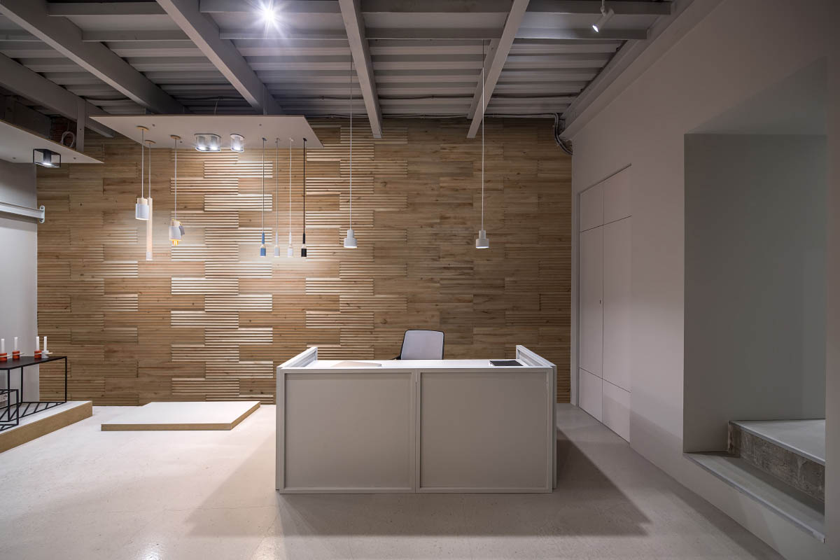 Moderna interjera sienu paneļi