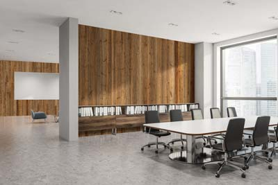 Office meeting room interior design