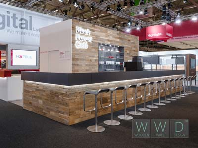 Reclaimed wood interzum